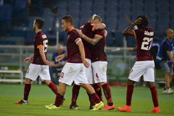 Roma 2-0 Fiorentina: Nainggolan and Gervinho with goals to give hosts opening victory