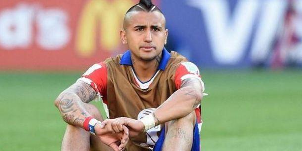 Vidal's knee injury strikes again
