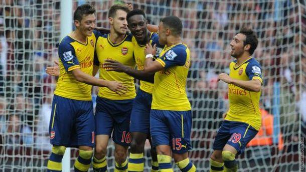 Arsenal spietato, Villa al tappeto: è 0-3 al Villa Park