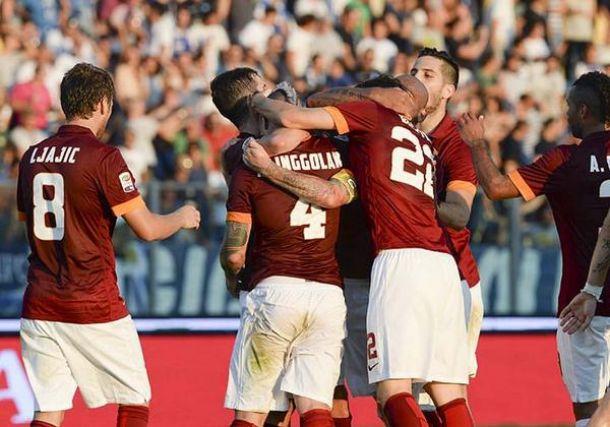 La Roma vince ad Empoli, decide un'autorete di Sepe
