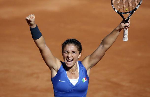 L'Italie remporte la Fed Cup