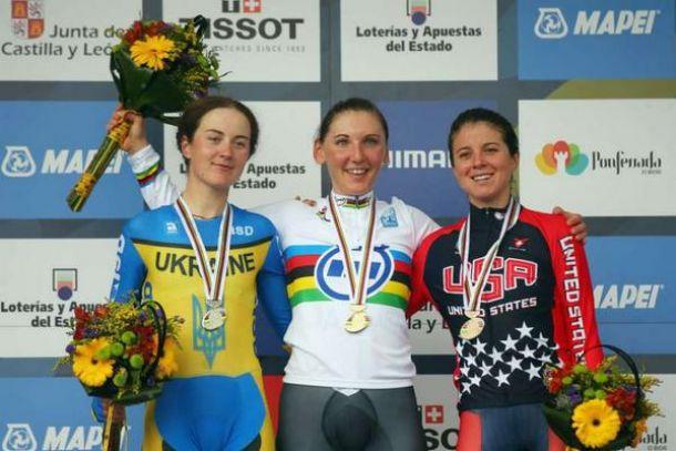 Ponferrada 2014, crono elite donne: medaglia d'oro per la Brennauer, male le azzurre!