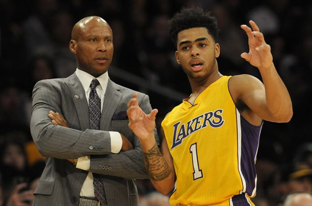 NBA, Lakers: D'Angelo Russell ancora in panchina nel quarto periodo