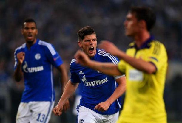 Schalke 04 1-1 NK Maribor Sluggish Schalke slump to a draw against Maribor