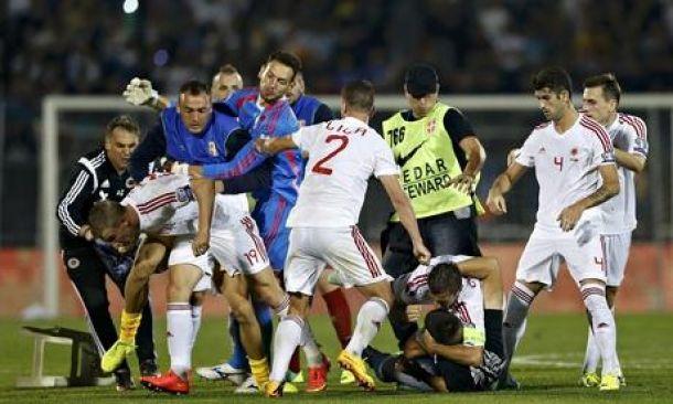Serbia - Albania: la partita infinita