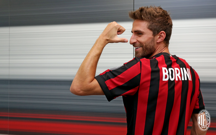 Terza Maglia AC Milan FABIO BORINI