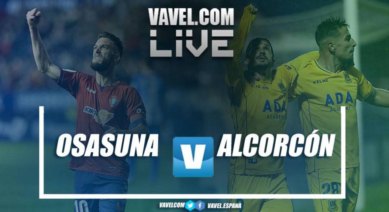 Resumen Osasuna vs Alcorcón en LaLiga 1|2|3 2018 (2-1)