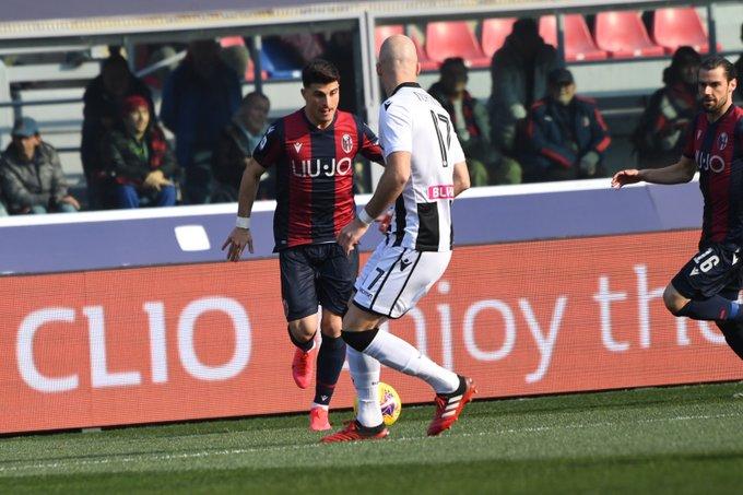 Serie A - A Okaka risponde Palacio: tra Bologna e Udinese finisce 1-1