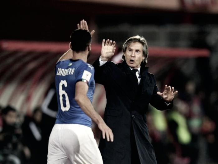 L'Italia vince contro l'Albania: le voci degli azzurri nel post partita