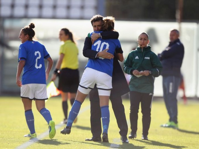 2019 Women's World Cup Qualification (UEFA) – Group 6: Italy brush aside Romania