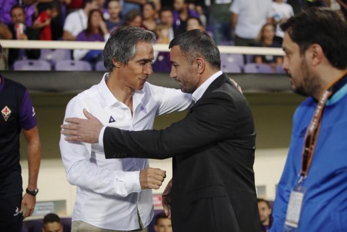 Europa League - Fiorentina, Paulo Sousa bacchetta la squadra