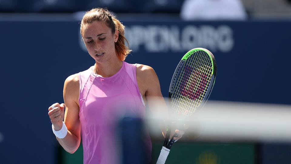 US Open: Petra Martic sails into the second week