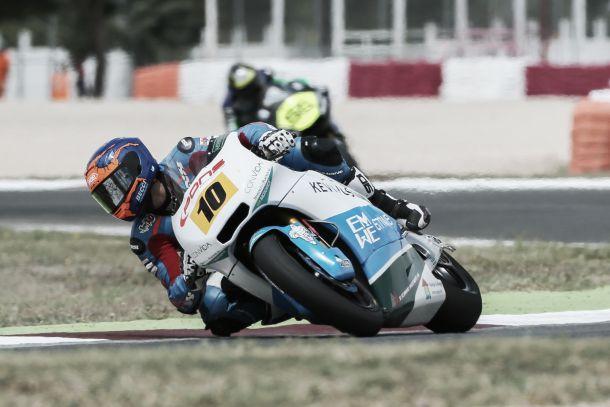 Jesko Raffin hace valer su condición de mandamás en Moto2