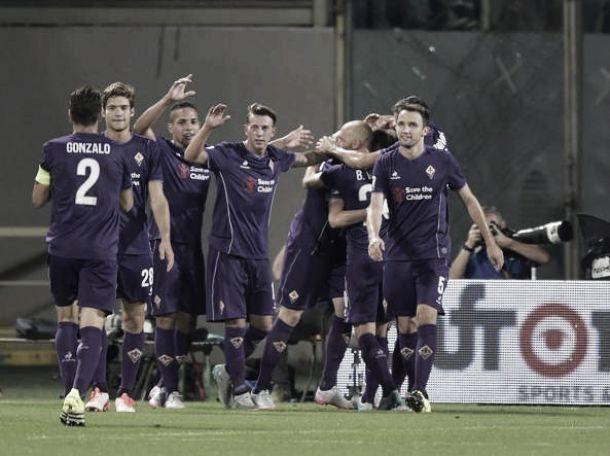 Parte bene la Fiorentina: 2-0 al Milan di Mihajlovic