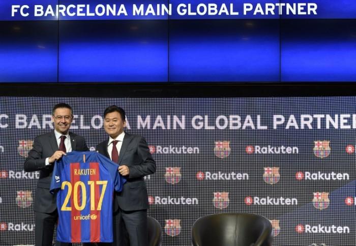 Barcellona, Rakuten è il nuovo sponsor: affare da 55 milioni l'anno