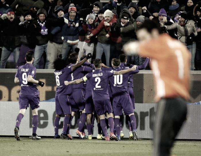 Fiorentina-Juve: padroni di casa dominatori del gioco. Calo mentale per la Signora