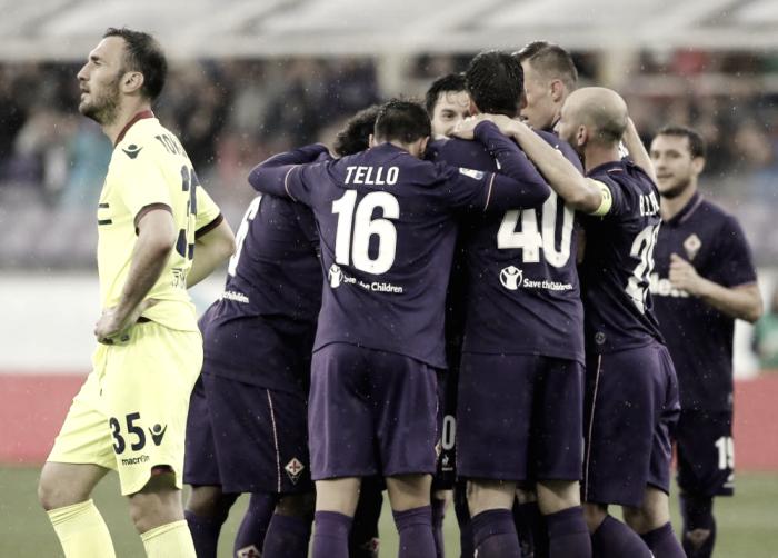 Serie A - La Fiorentina batte di misura il Bologna. Decide Babacar (1-0)