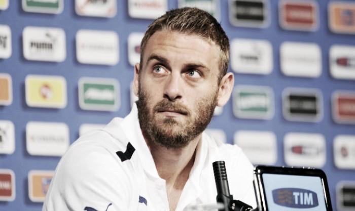 Spagna-Italia, De Rossi guarda con fiducia al big match