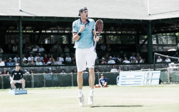 ATP Newport: John Isner survives Dennis Novikov challenge