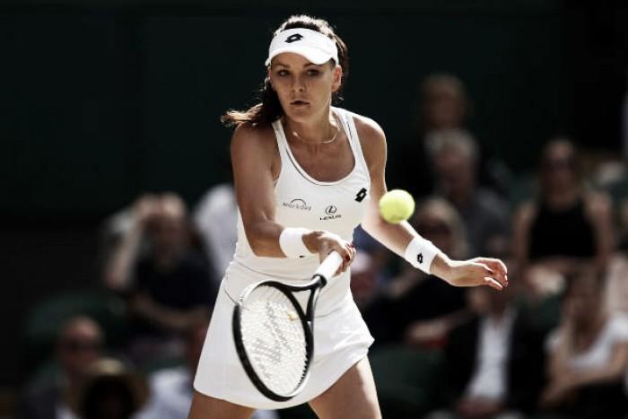 Wimbledon: Agnieszka Radwanska proves too strong for Timea Bacsinszky