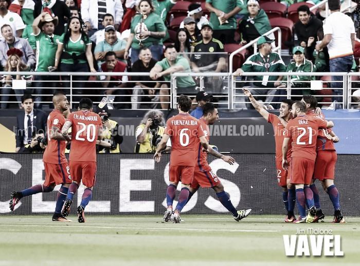 Copa America Centenario: Colombia and Chile battle in Chicago for place in Copa America final