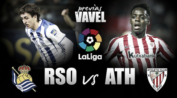 Previa Real Sociedad Athletic De Bilbao Derbi Con
