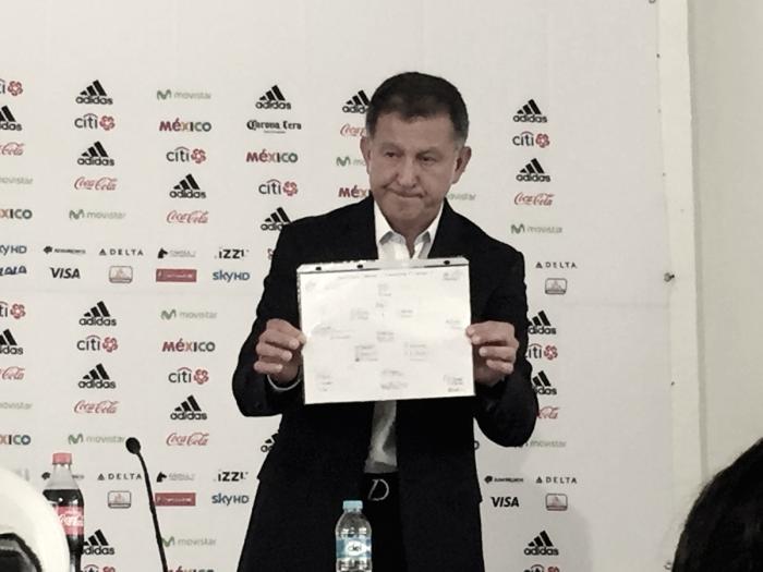 Juan Carlos Osorio presenta lista preliminar para Confederaciones
