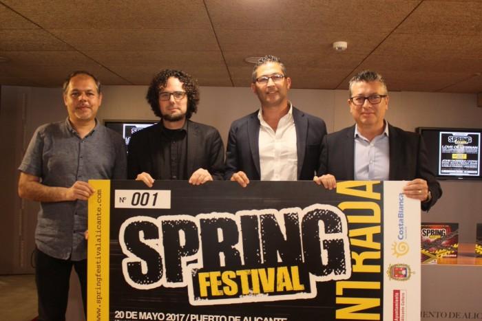 El Spring Festival presenta una novena edición que quiere crecer de la mano de Alicante