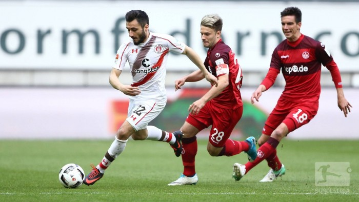 1.FC Kaiserslautern 1-2 FC St. Pauli: Freibeuter all but guarantee safety