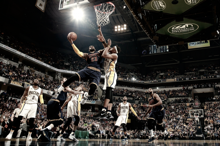 Cavaliers vencem, 'varrem' Pacers e se classificam nos playoffs