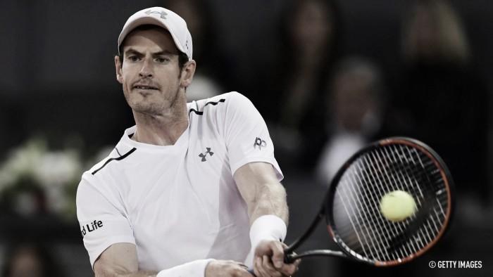Master 1000 de Madrid: Otra derrota para Murray