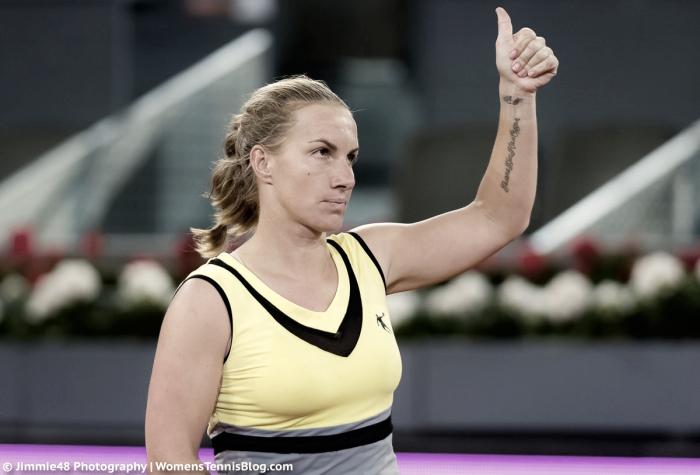WTA Madrid: Svetlana Kuznetsova finishes Eugenie Bouchard's run to reach the semifinals