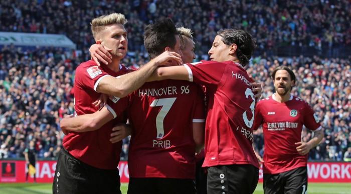 Hannover 96 1-0Fortuna Düsseldorf:Füllkrug goal seals easy win