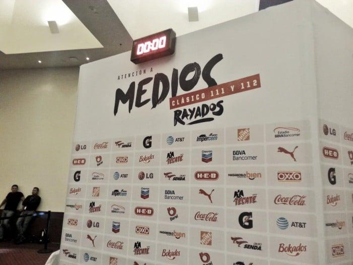 Ofreció Rayados 'Día de Medios' de cara al Clásico de Liguilla