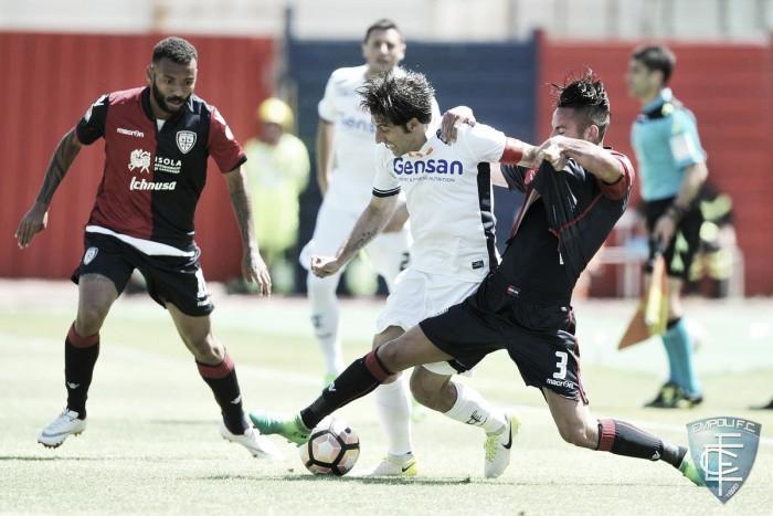 Serie A: all'Empoli non riesce il miracolo, vince il Cagliari 3-2 grazie ad un super Farias