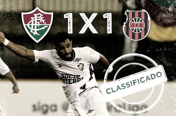 Com reservas, Flu empata com Brasil-RS e se classifica na Primeira Liga no desempate de cartões