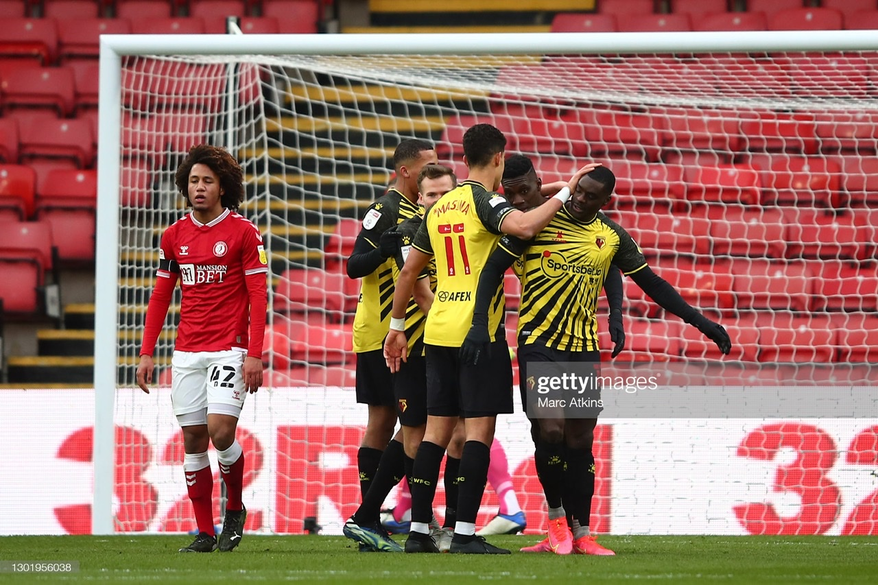 Watford 6-0 Bristol City: Hornets hit six as they sail past Robins
