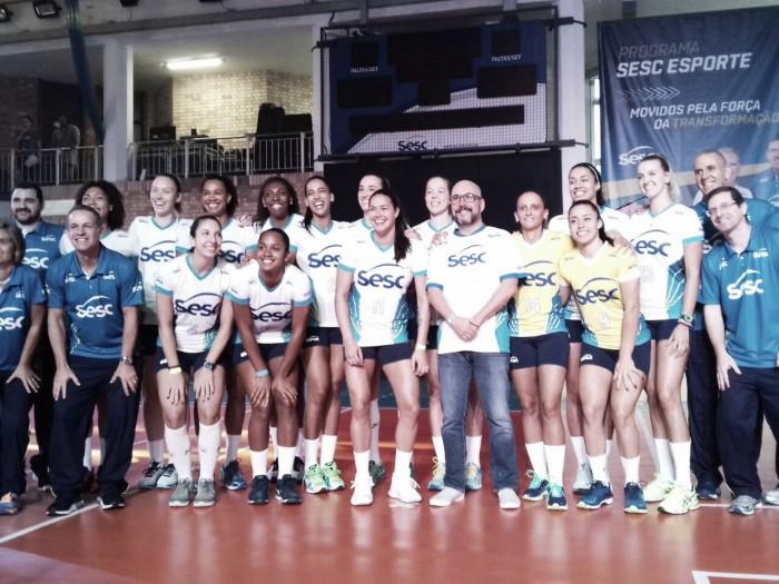 Visando recuperar hegemonia, Sesc-RJ estreia no Campeonato Carioca de Vôlei Feminino