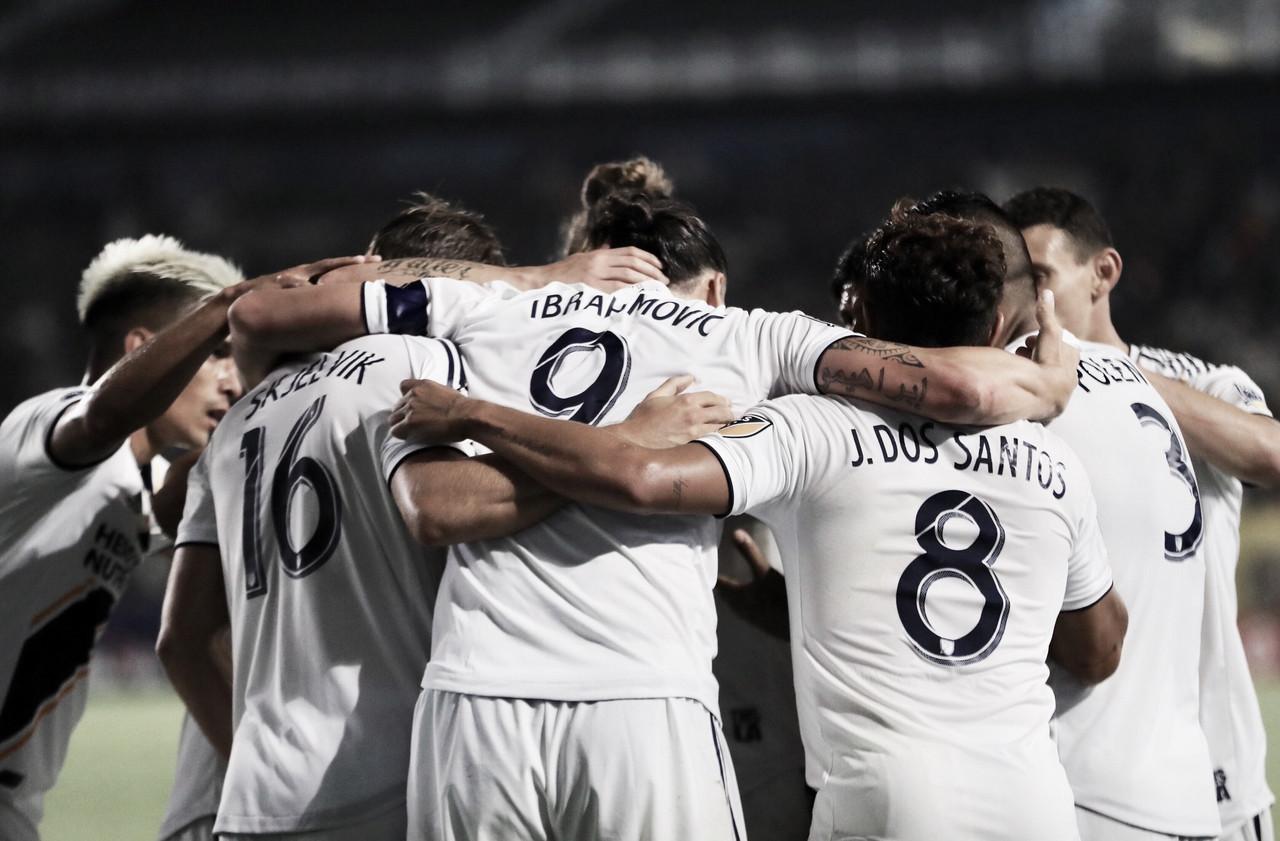 Ibrahimovic recupera la sonrisa del Galaxy
