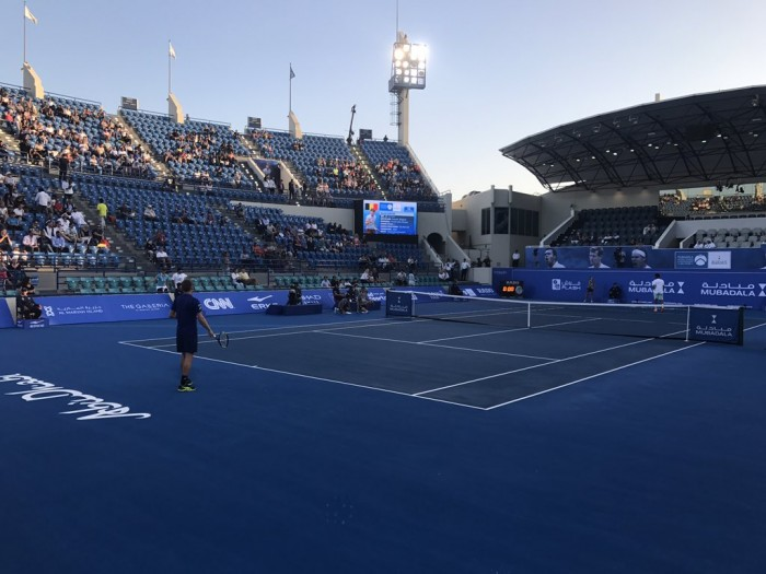 Tennis, Mubadala World Tennis Championship - Goffin liquida in due set Tsonga, è semifinale