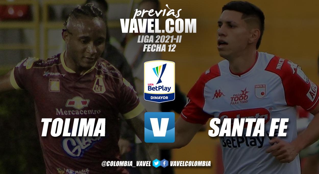 Previa Deportes Tolima vs Independiente Santa Fe: el 'león' quiere seguir sumando de visita