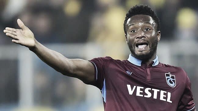 Obi Mikel rescinde com Trabzonspor após criticar Federação Turca