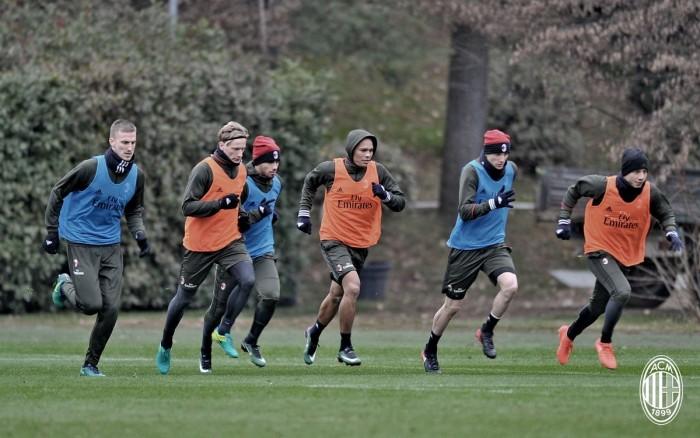 Milan, la ripresa degli allenamenti è fissata per il primo gennaio