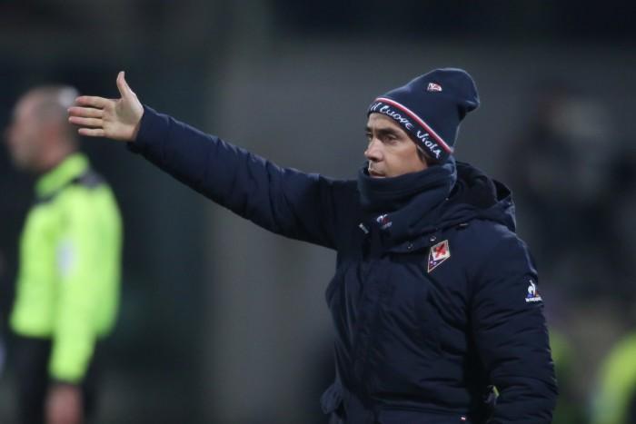 Fiorentina - Paulo Sousa, tra rammarico e soddisfazione