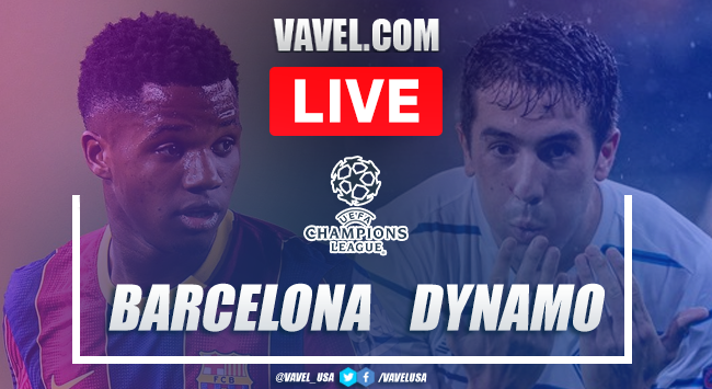 The Best Barcelona Vs Dynamo Kyiv Highlights Youtube