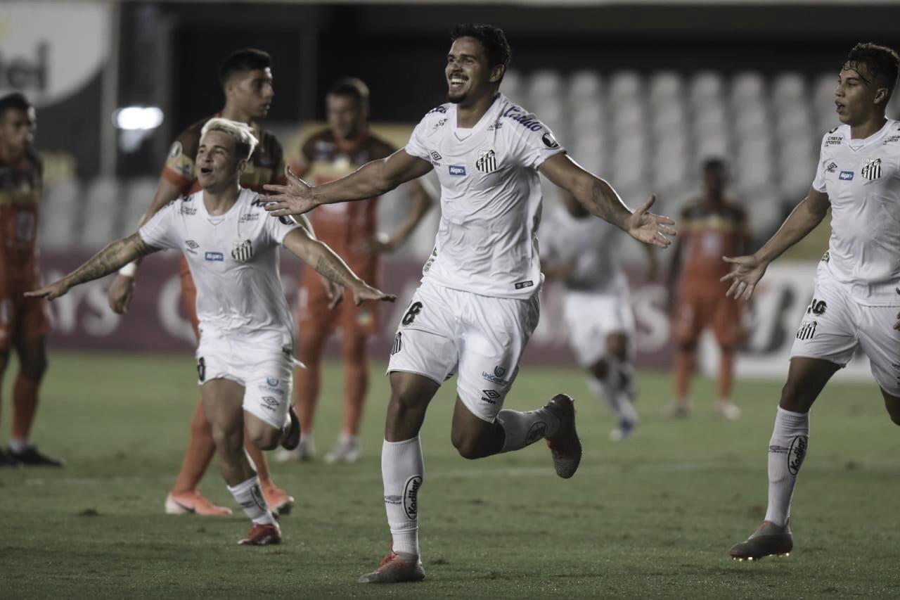 Com portões fechados, Santos bate Delfín e conquista segunda vitória na Copa Libertadores