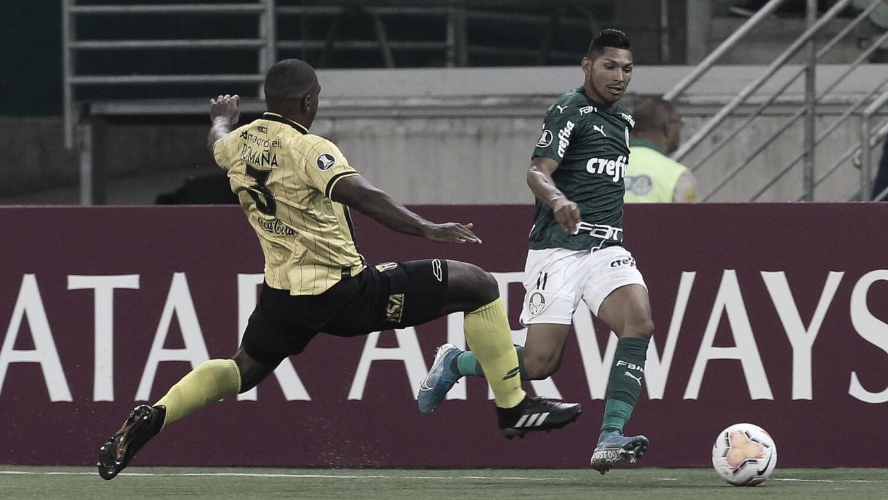 Palmeiras derrota Guaraní e mantém 100% de aproveitamento na Libertadores