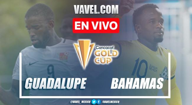 Resumen y goles: Guadalupe 2-0 Bahamas en Clasificación de la Copa Oro de la CONCACAF 2021