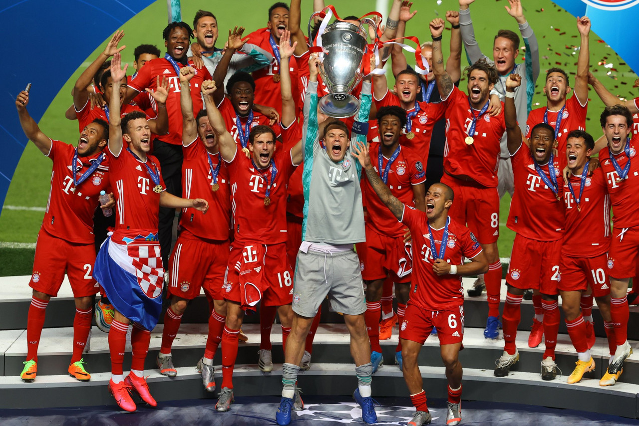 Bayern win their sixth Champions League title