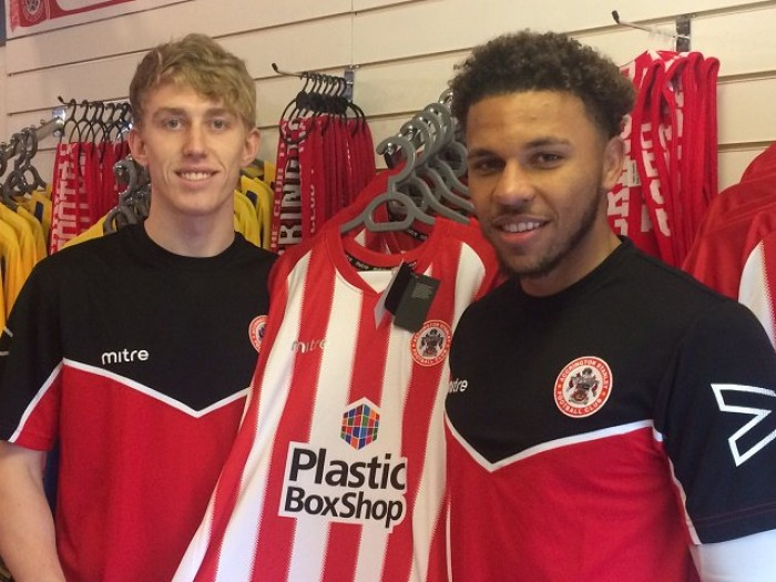 Edwards and Rodgers join Accrington Stanley until the end of the season